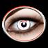 Weisse Kontaktlinsen (white Slash)